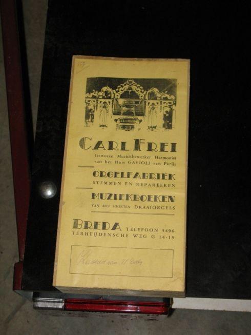 Gavioli musiche Carl Frei
