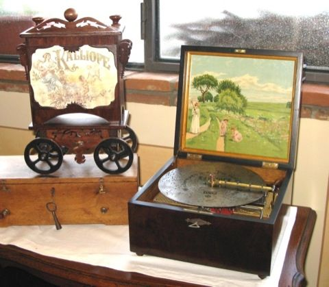 Music Box Calliope 1890 Germania