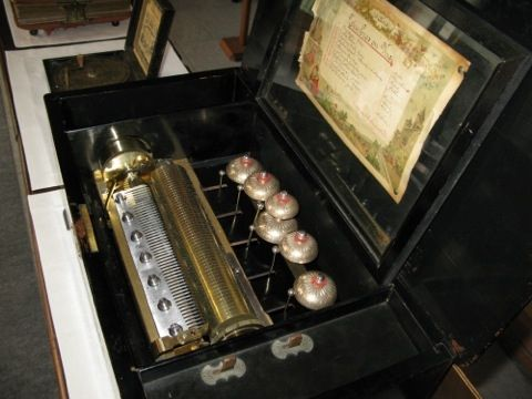 Music Box (carillon) Conchon 1860 Svizzera