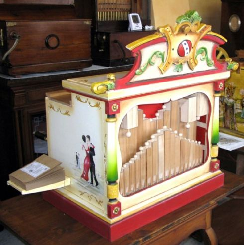 Organo di Barberia modello Allegro AMMI
