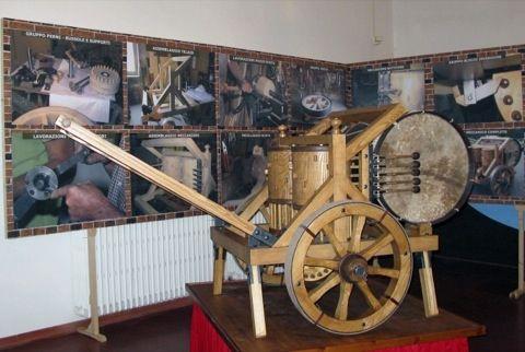 Tamburo Meccanico Leonardo da Vinci