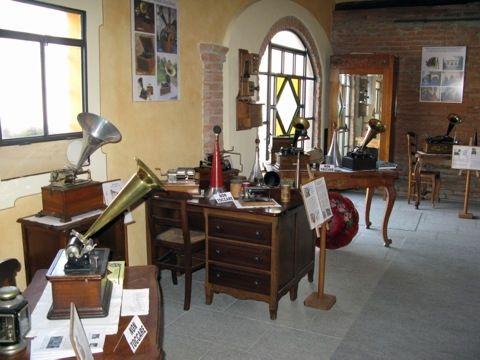 scorcio del Museo Fonografi e Grammofoni