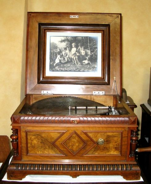 MUSIC BOX SYMPHONION 1888 GERMANIA