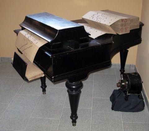 PIANO MELODICO MOD EXCELSIOR RACCA 1900 BOLOGNA